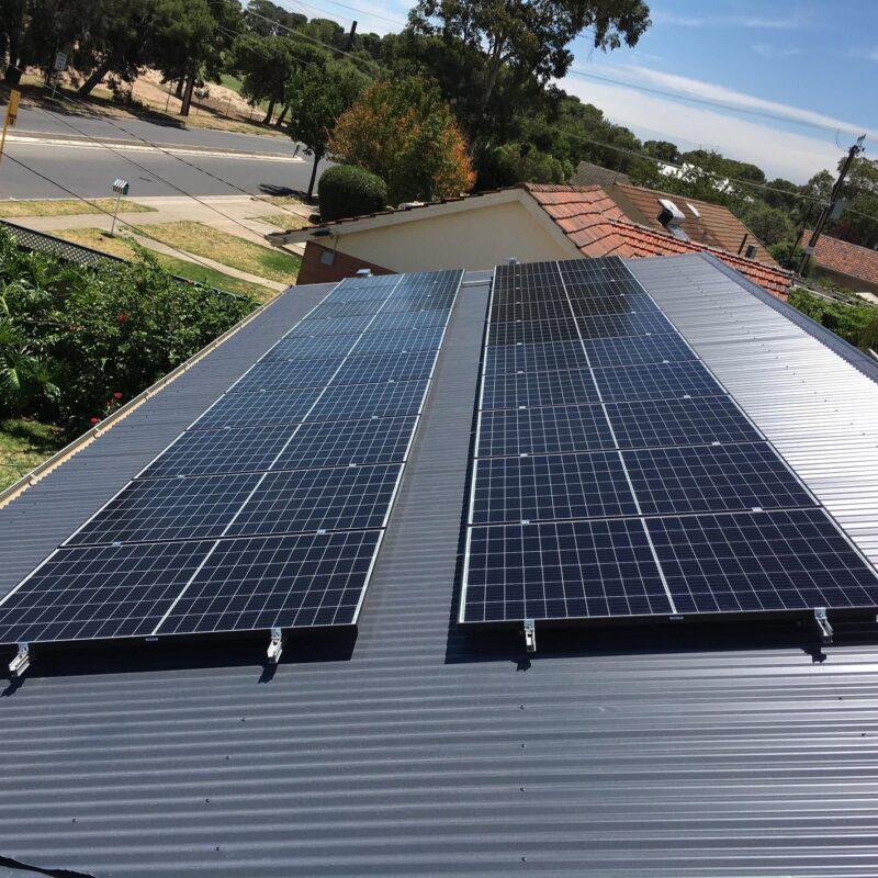 Seraphim Solar Panels on Western Roof