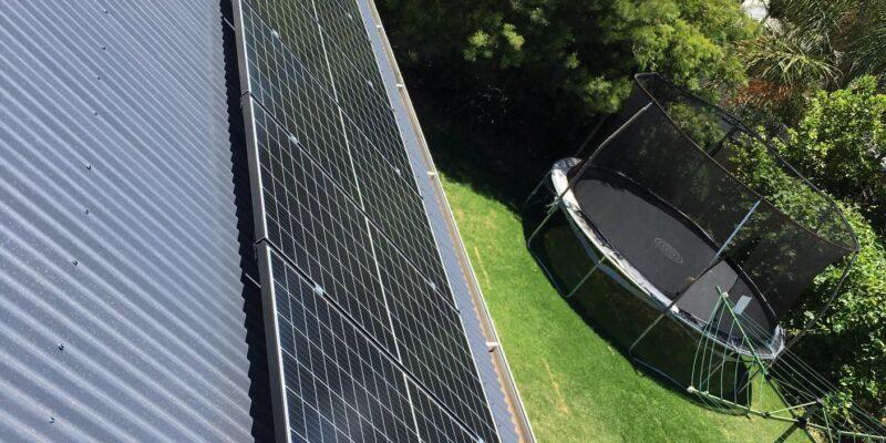 Seraphim Solar Panels on Eastern Roof
